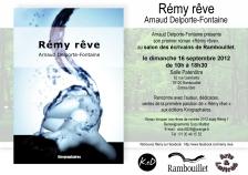 """Annonce sélection de """"Rémy rêve"""" salon des écrivains de Rambouillet"""